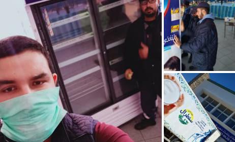 في ظل محاربة جائحة فيروس كورونا مركز الحليب سنطرال دانون بالجديدة بادرة محمودة